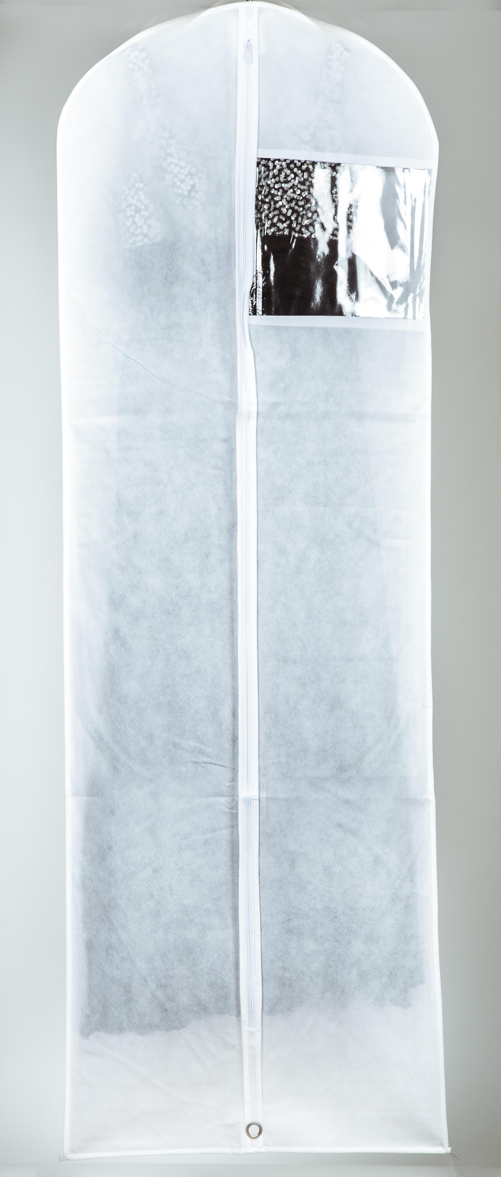 קאבר לשמלות ערב ארוך לבן